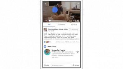 Facebook Watch, la piattaforma di video streaming arriva sul social network