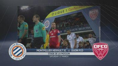 Montpellier Herault SC-Dijon FCO 2-2