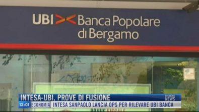 Breaking News delle 12.00 | Intesa-Ubi, prove di fusione