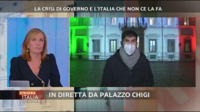 Crisi: la diretta da Palazzo Chigi