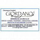 Onoranze Funebri Giordano