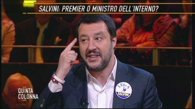 L'appello di Matteo Salvini