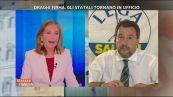 """Trattativa Stato-mafia, Salvini: """"I forcaioli di sinistra chiedano scusa"""""""