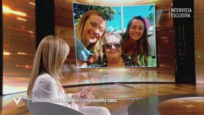 Giorgia Meloni e l'affetto per la mamma Anna