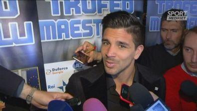 """Il Cholito su Juve-Atletico: """"Papà l'ha presa bene"""""""