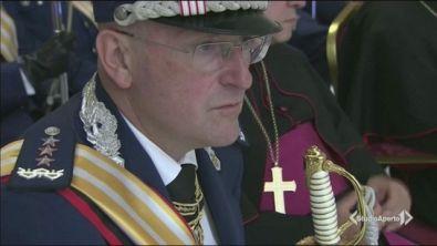 Lascia il capo delle guardie papali