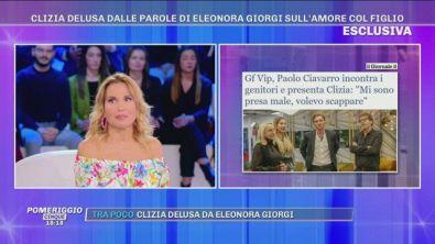 GFVIP - Clizia delusa dalle parole di Eleonora Giorgi sull'amore col figlio