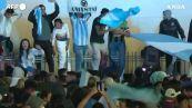 L'Argentina vince la Copa America: la festa dei tifosi a Buenos Aires