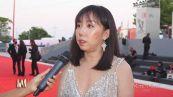 Jo Squillo: Mimi Lin sul red carpet del Festival di Venezia