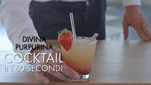 Cocktail in 60 secondi: Divina Purpurina