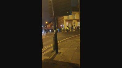 Napoli, scontri tifosi-polizia a Liverpool