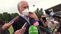 """Olimpiadi Milano-Cortina, Malagò: """"Stiamo rispettando le tappe"""""""
