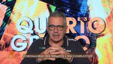 Coronavirus: tra minacce e tesi complottiste