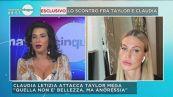 In diretta la sfida tra Claudia Letizia e Taylor Mega