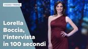 Lorella Boccia, l'intervista in 100 secondi