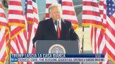 Breaking News delle 16:00   Trump lascia la Casa Bianca