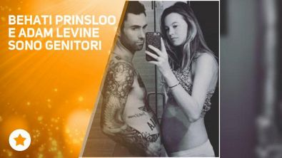 Adam Levine e Behati Prinsloo: 'Benvenuta Dusty Rose'