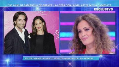 Samantha De Grenet: Luca è l'amore della mia vita