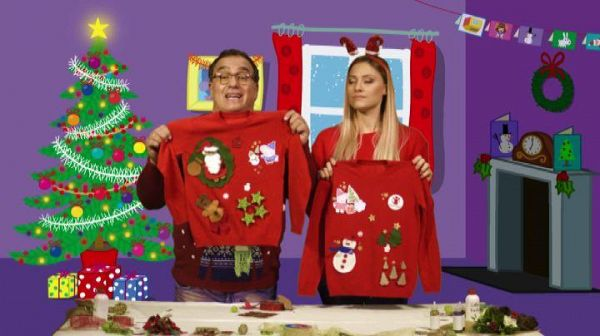Il 'Christmas Jumper Day' con Peppa Pig per Save the Children