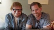 Ed Sheeran incontra il Principe Harry