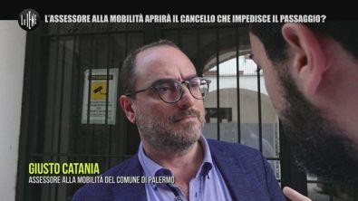 MONTELEONE: Palermo, il caso del cancello dell'assessore: è Giusto o non autorizzato?