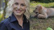 Antonella Clerici, in casa arriva Simba, un cucciolo di Labrador
