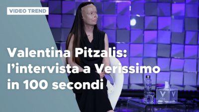 Valentina Pitzalis: l'intervista a Verissimo in 100 secondi