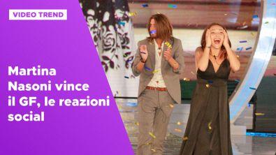 Martina Nasoni vince il GF, le reazioni social