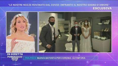 Casagiove, ''Le nostre nozze rovinate dal Covid''