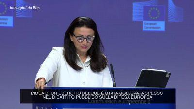 """Commissione Ue: """"L'esercito europeo non e' in agenda al momento"""""""
