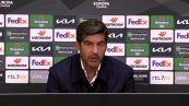 """Ajax - Roma, Fonseca: """"Il turno non e' chiuso ma e' stato importante vincere"""""""