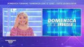 Domenica tornano ''Domenica Live'' e ''Live'' - le anticipazioni