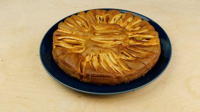 Ricetta per la torta di mele dietetica