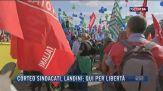 Breaking News delle 21.30 | Corteo sindacati, Landini: Qui per libertà