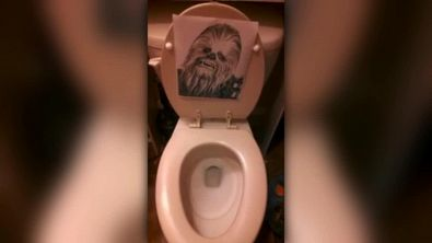 La toilette preferita dai fan di Star Wars