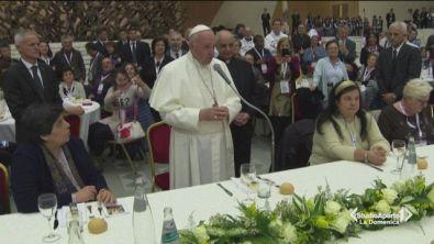 A pranzo col Papa