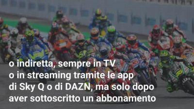 Dove vedere la MotoGP in streaming