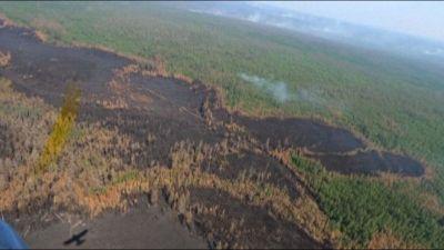 Permafrost a rischio con i vasti incendi in Jacuzia (Siberia)