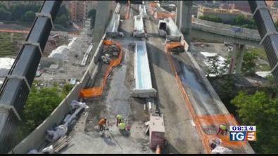 Ponte Morandi, domani l'abbattimento
