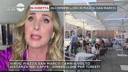 Virus, Piazza San Marco cambia volto