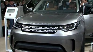 Jaguar Land Rover al Salone di Parigi