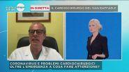 In diretta il prof. Castiglioni, primario di Cardiologia del San Raffaele di Milano