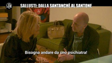 DI SARNO: Lo scherzo ad Alessandro Sallusti: la compagna fregata da un santone!