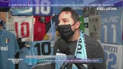 La morte di Maradona - parla il custode dello stadio San Paolo