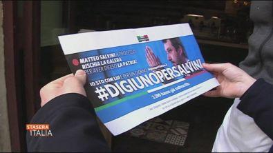 Lo sciopero della fame di Matteo Salvini