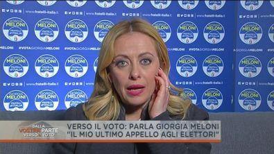 Giorgia Meloni: l'incontro con Orban