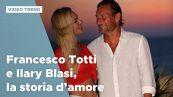 Francesco Totti e Ilary Blasi, la storia d'amore