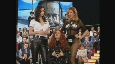 Selen, Ambra e Luciana Littizzetto a Ciro figlio di Target 1998