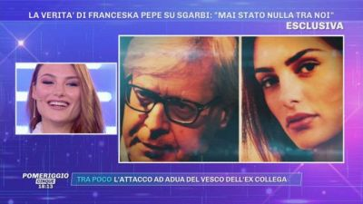 La verità di Franceska Pepe su Sgarbi: ''Mai stato nulla tra noi''