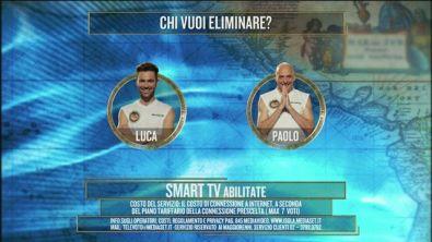 Luca Vismara e Paolo Brosio sono in nomination